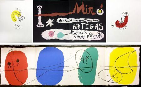Libro Illustrato Miró - SCULPTURE IN CERAMIC BY MIRÓ AND ARTIGAS. TERRES DE GRAND FEU. December, 1956