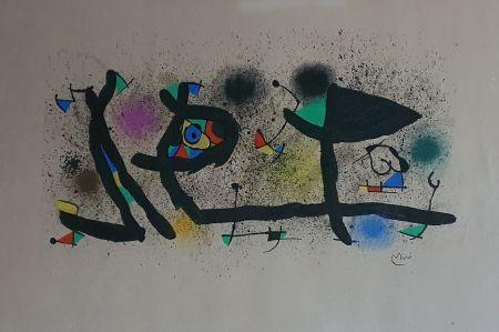 Litografia Miró - Sculptures (III)