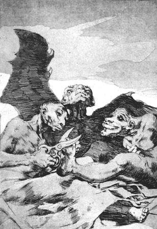 Acquaforte E Acquatinta Goya - Se repulen