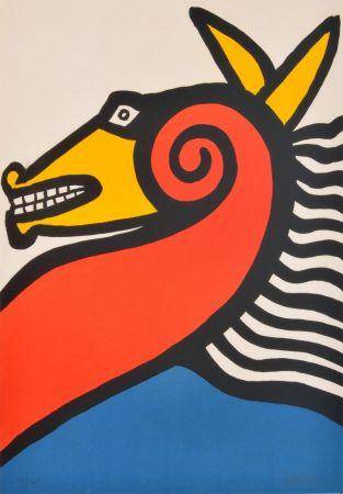 Litografia Calder - Sea Horse
