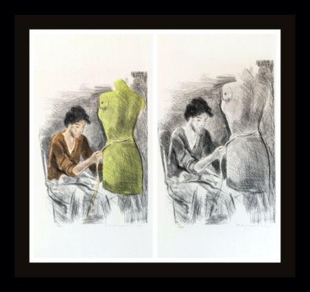 Litografia Soyer - Seamstress II Portfolio