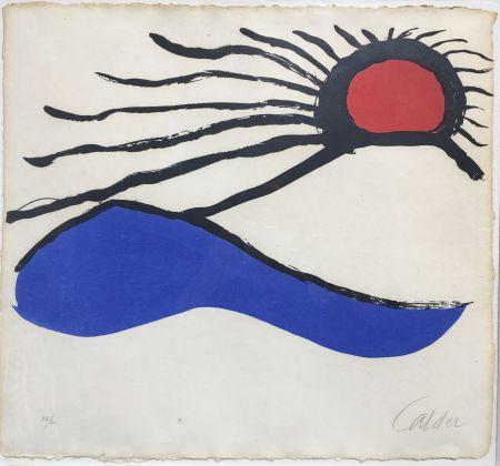 Litografia Calder - Seascape