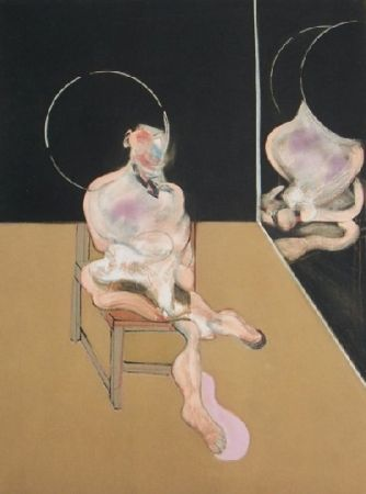Incisione Bacon - Seated figure