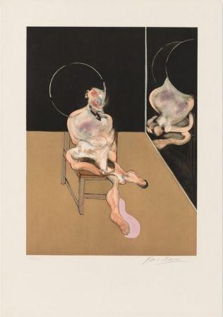 Acquatinta Bacon - Seated Figure 1983