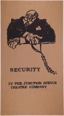 Serigrafia Kentridge - Security