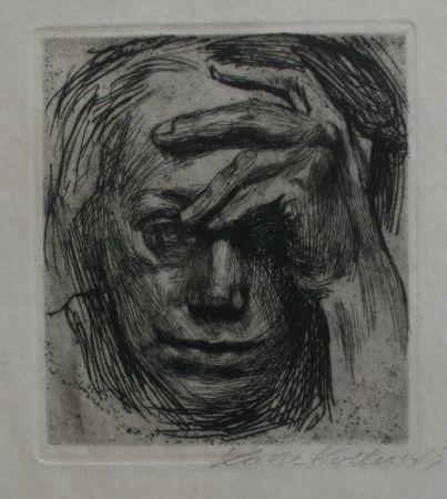 Incisione Kollwitz - Self-portrait