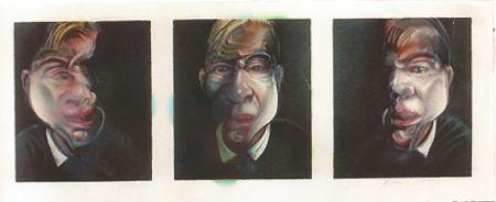 Litografia Bacon - Self-portrait