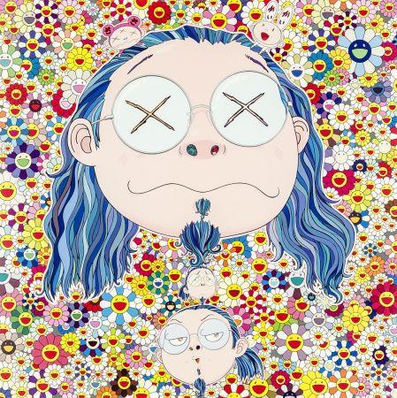 Offset Murakami - Self-portrait of The Distressed Artist