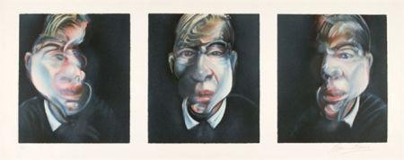 Litografia Bacon - Self-Portrait  Tryptique