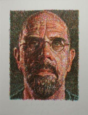 Serigrafia Close - Self Portrait