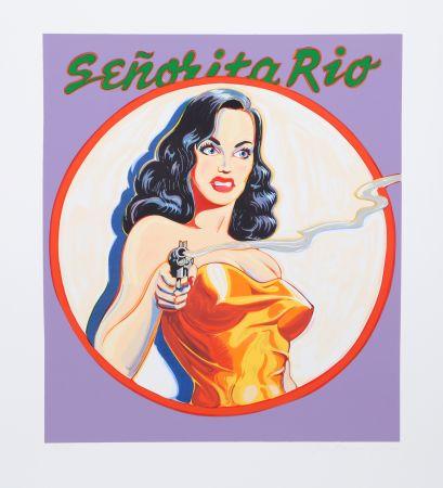 Litografia Ramos - Senorita Rio