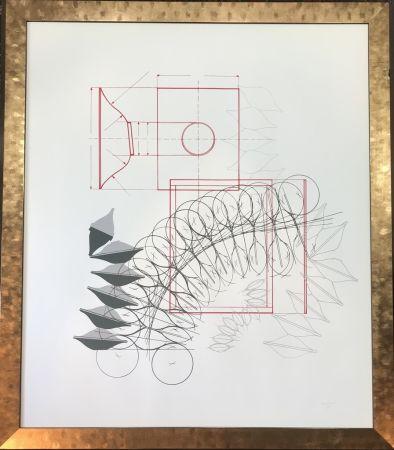 Litografia Bonalumi - Senza titolo