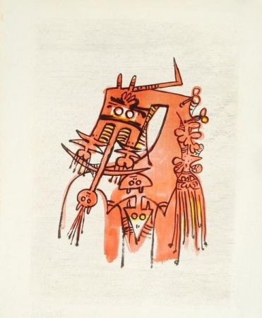 Litografia Lam - Senza titolo