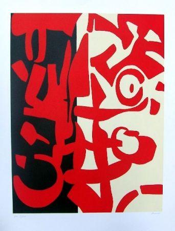 Litografia Accardi - Senza titolo