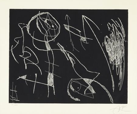 Acquaforte Miró - Serie Mallorca - Negro y Blanco I