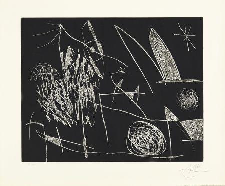 Acquaforte Miró - Serie Mallorca - Negro y Blanco VII