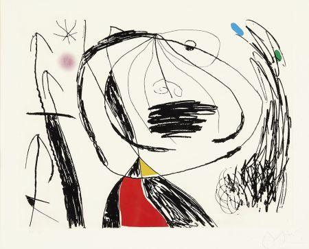 Acquaforte Miró - Serie Mallorca V