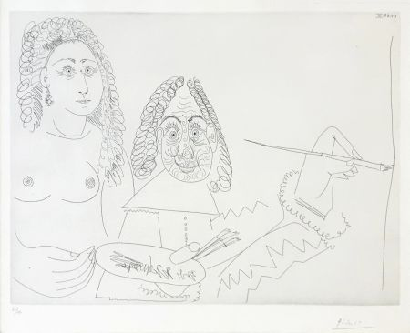 Incisione Picasso - SERIES 347 (BLOCH 1502)
