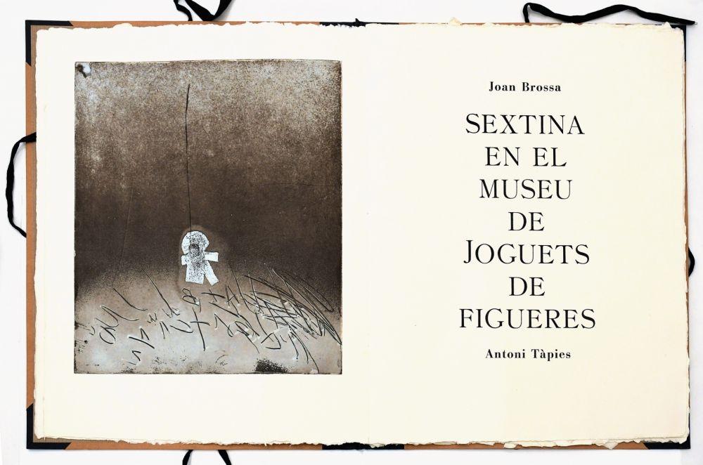 Acquaforte Tàpies - Sextina en el Museu de Joguets de Figueres