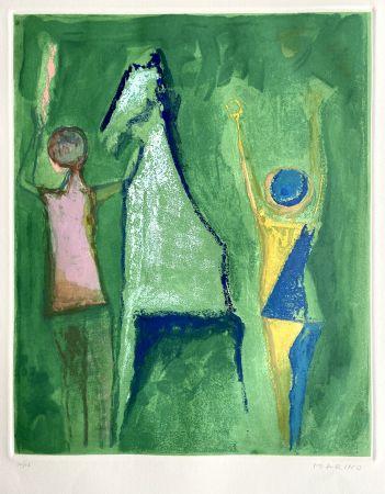 Acquaforte E Acquatinta Marini - Shakespeare I, Sheet I
