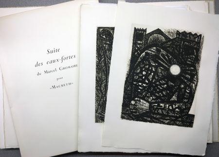 Libro Illustrato Gromaire - SHAKESPEARE, William: MACBETH. Avec double suite.