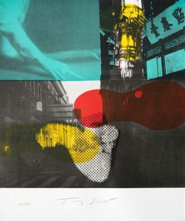 Litografia Soulie - Shanghai Nocturne