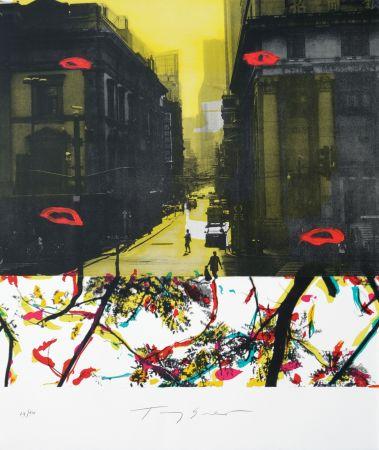 Litografia Soulie - Shanghai Rue De La Soie