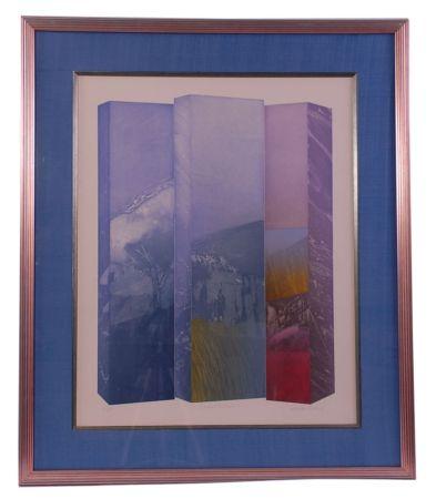 Acquaforte Ware - Shaped Triptych I