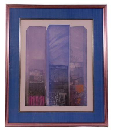 Acquaforte Ware - Shaped Triptych II