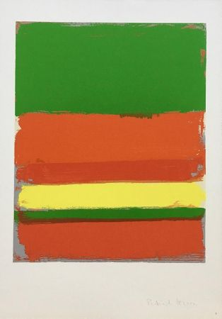 Serigrafia Heron - Shapes of Colour: 2