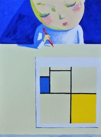 Litografia Ye - She And Mondrian