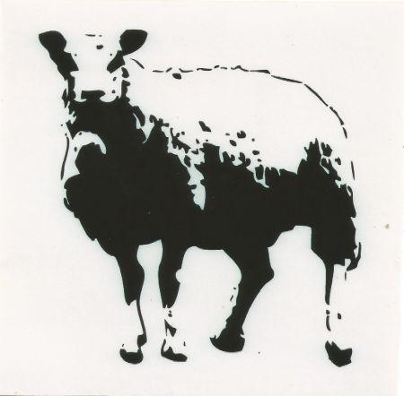 Serigrafia Blek Le Rat - Sheep (baah)