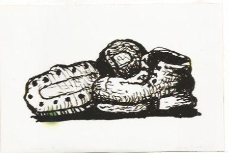 Litografia Guston - Shoes