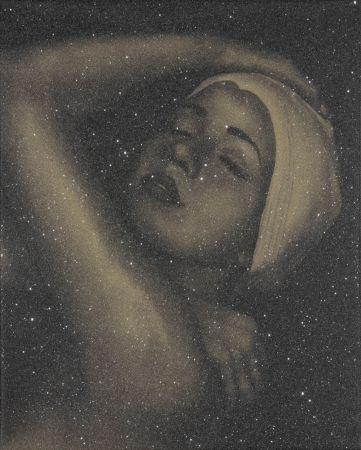 Litografia Feuerman - SHOWER PORTRAIT (GOLD)