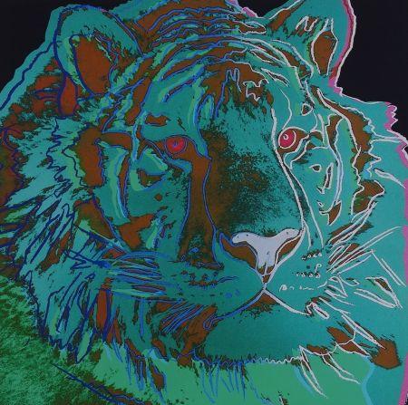Serigrafia Warhol - Siberian Tiger