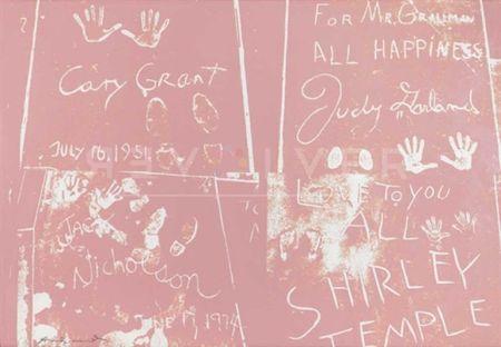 Serigrafia Warhol - Sidewalk (FS II.304)