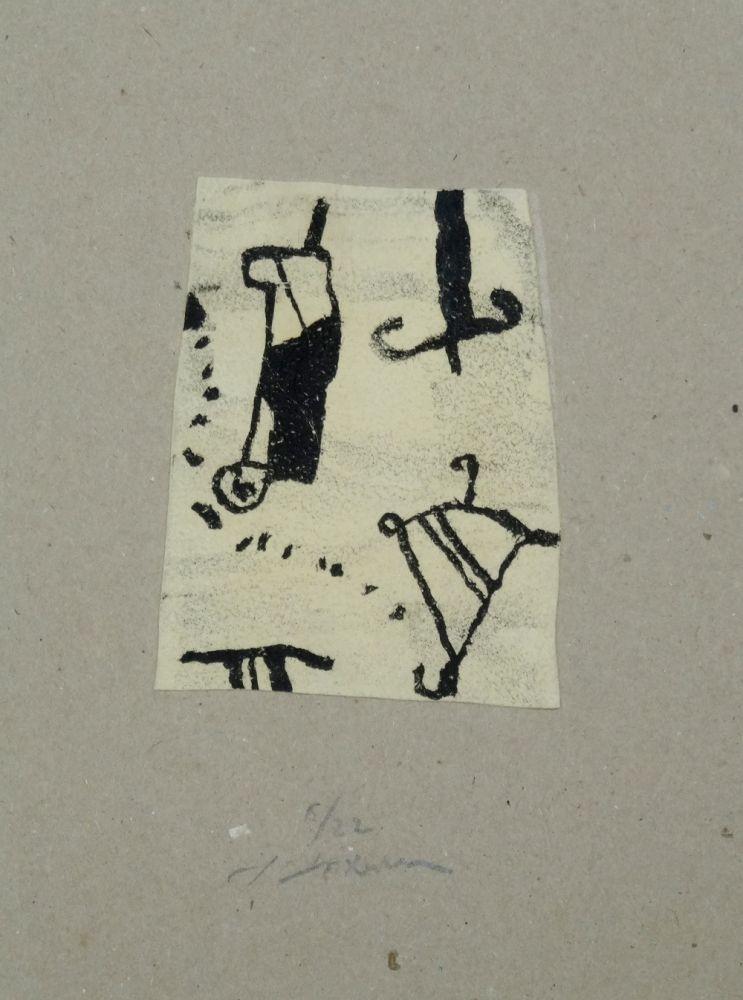 Litografia Texier - Signes