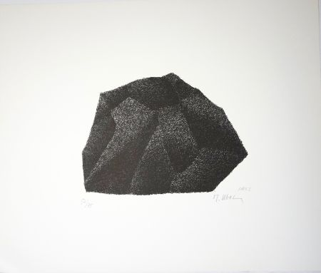 Litografia Ubac - Silex I