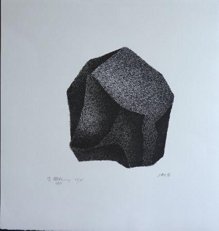 Litografia Ubac - Silex III