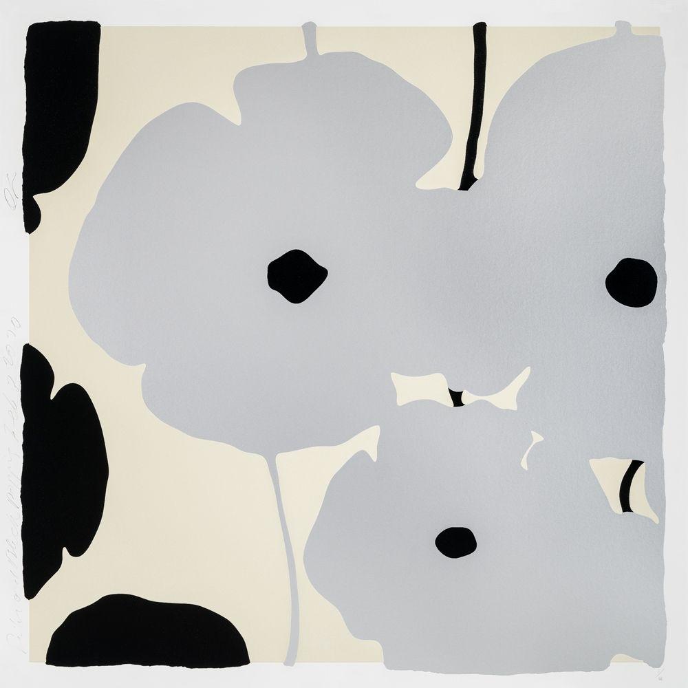 Serigrafia Sultan - Silver Poppies