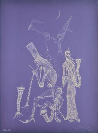 Acquaforte Ponç - Simfonia violeta