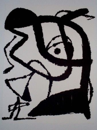 Litografia Miró - Sin título