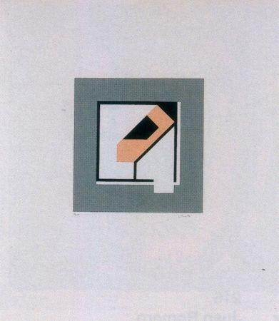 Serigrafia Rueda - Sin título