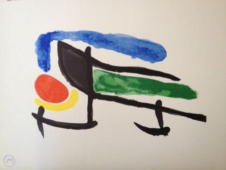 Litografia Miró - Sin Titulo