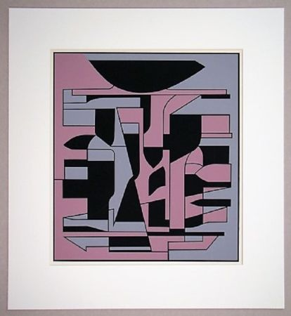 Serigrafia Vasarely - Siris Ii