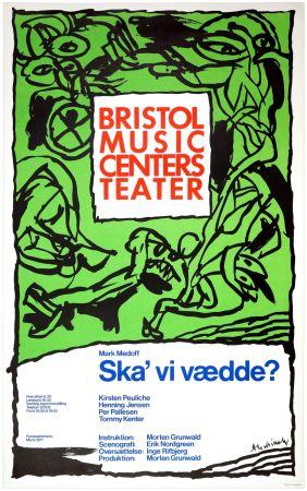 Manifesti Alechinsky - Ska'vi vædde ?, Mark Medoff, 1977