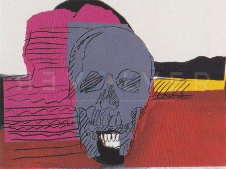 Serigrafia Warhol - Skull (Fs Ii.159)