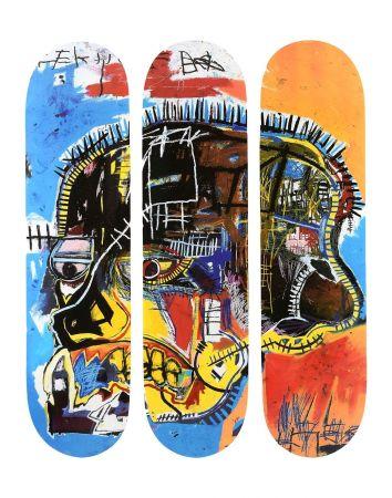Multiplo Basquiat - Skull Skateboards