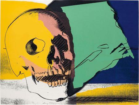 Serigrafia Warhol - Skulls (FS II.158)