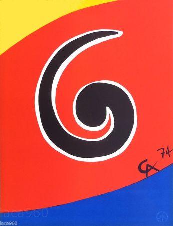 Litografia Calder - Sky Swirl